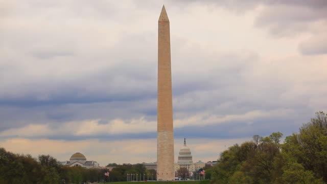 US capitol und das Washington monument