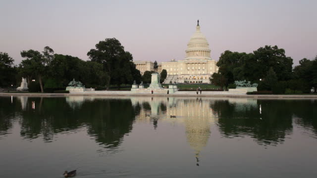 US Capitol at Sunset