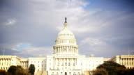 Gli Stati Uniti Capitol Building HD Time lapse