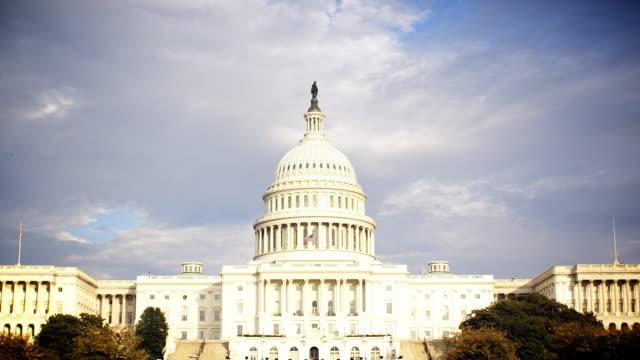 U.S Capitol Building HD Timelapse