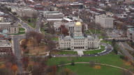 Capitol building in Hartford, Connecticut. Shot in November 2011.