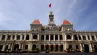 A Capitol Building in Ho Chi Minh, Vietnam