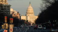 T/L ZO Capitol Building in Washington DC transition from day to night