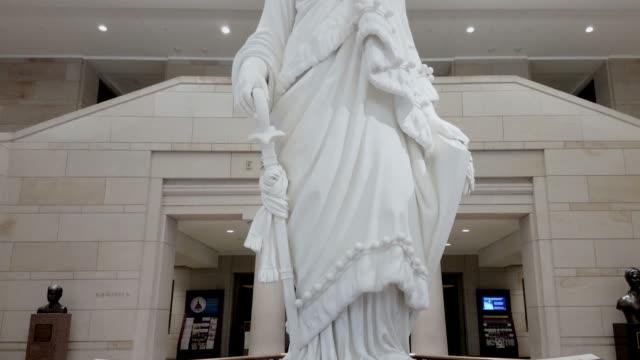 U.S. Capitol Building Visitors Center in Washington, DC - 4k/UHD