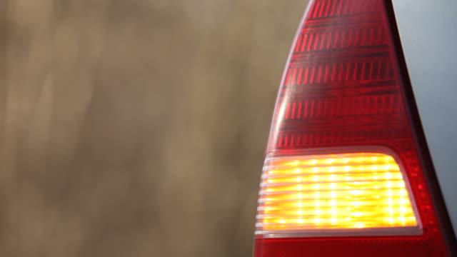 Auto blinker Nahaufnahme