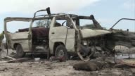 A car bomb attack targeting Somalia's new army chief on Sunday killed at least five people including four civilians and a soldier said an AFP...