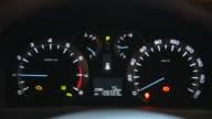 HD: Auto Armaturenbrett Glühend