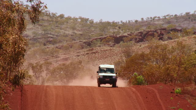 WS ZO Car drive on gibb river road / Derby, Western Australia, Australia