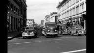 Car POV driving along Market Street Car POV driving along Market Street on January 01 1943 in San Francisco California