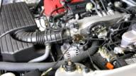 Auto-Motor Heulen