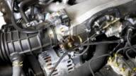 Auto-Motor Heulen (Nahaufnahme HD
