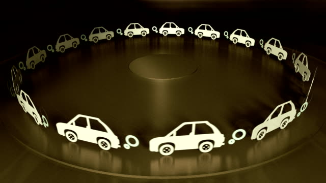 Car Pollution Looping Animation