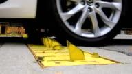 Car Tire Barrier
