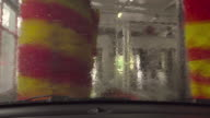Car wash (timelapse) 4k