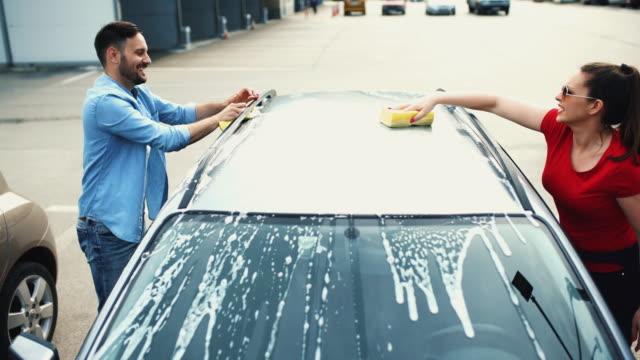 Car wash self service.