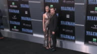 Cara Delevingne and Dane DeHaan at the 'Valerian and the City of a Thousand Planets' World Premiere at TCL Chinese Theatre on July 17 2017 in...