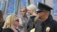 Cara Delevingne Poppy Delevingne outside TCL Chinese Theatre in Hollywood in Celebrity Sightings in Los Angeles