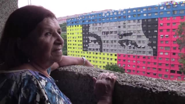 Caracas resident Trina Paez a long time Chavist who feels that late president Hugo Chavez is like a son says she believes the constituent assembly is...