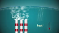 Carbon dioxide in air