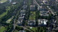 Cardiff Centre  - Aerial View - Wales,  Cardiff,  helicopter filming,  aerial video,  cineflex,  establishing shot,  United Kingdom