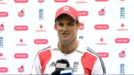 Cardiff INT Andrew Strauss press conference SOT