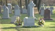 Cardinal Francis George Gravesite at All Saints Cemetery on April 23 2015 in Des Plaines Illinois