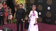 Carey Hart and Pink at the 'Alice Through The Looking Glass' Los Angeles Premiere at the El Capitan Theatre on May 23 2016 in Hollywood California