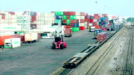 cargo containers-Time lapse