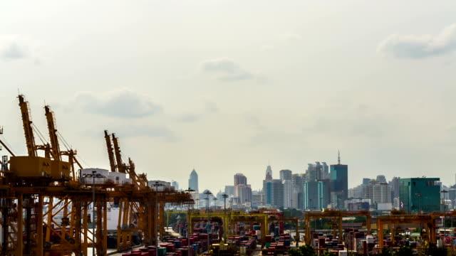 Cargo Schiff Beladen Hafen