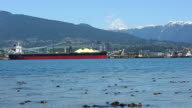 Cargo ships in Vancouver