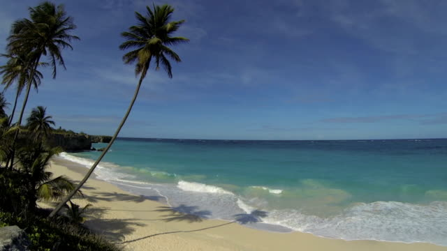 Caribbean beach in Barbados