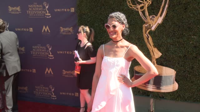 Carla Hall at the 44th Annual Daytime Emmy Awards at Pasadena Civic Auditorium on April 30 2017 in Pasadena California