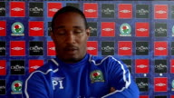 Blackburn Rovers press conference Ince press conference SOT Talks about memories of opening day match against Everton / Not his position to comment...