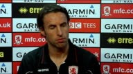 Middlesbrough Gareth Southgate press conference Southgate press conference SOT Everyone wants to analyse everything to death but players just want to...