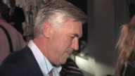 Carlo Ancelotti leaving Craig's Restaurant in West Hollywood in Celebrity Sightings in Los Angeles