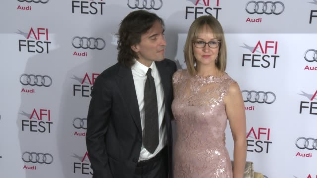Carlo Ponti and Andrea Meszaros Ponti at AFI FEST 2014 Presented By Audi A Special Tribute To Sophia Loren at Dolby Theatre on November 12 2014 in...