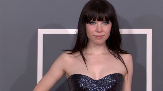 Carly Rae Jepsen at The 55th Annual GRAMMY Awards Arrivals in Los Angeles CA on 2/10/13