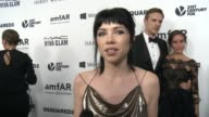 INTERVIEW Carly Rae Jepsen on why it was important for her to support amfAR at amfAR's Inspiration Gala Los Angeles 2015 in Los Angeles CA