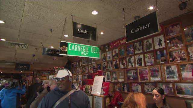 WPIX Carnegie Deli in New York City