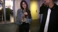 Caroline D'Amore at My Studio in Hollywood at the Celebrity Sightings in Los Angeles at Los Angeles CA