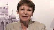 Caroline Lucas CoLeader of the Green Party responds to the suggestion that the Green Party would be unhappy any proposals the Government had to...