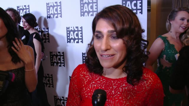 INTERVIEW Carolyn Giardina on the honor at 65th Annual ACE Eddie Awards in Los Angeles CA