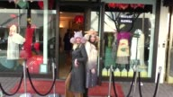 INTERVIEW Carolyn Hollingsworth talks hat fashion while shopping in Beverly Hills in Celebrity Sightings in Los Angeles