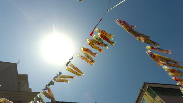 Carp Streamers of Boy's Festival in Kawagoe