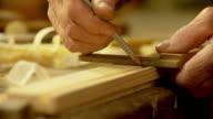 HD: Carpenter Doing Measurements
