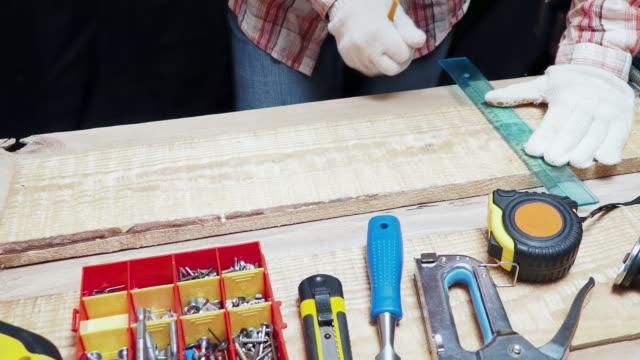 Carpenter measuring