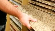 Carpet flooring department.