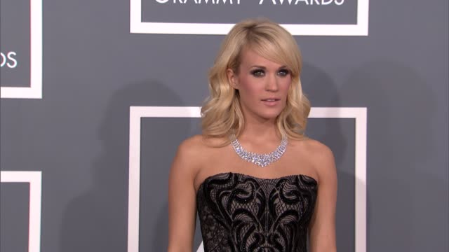 Carrie Underwood at The 55th Annual GRAMMY Awards Arrivals in Los Angeles CA on 2/10/13
