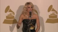 SPEECH Carrie Underwood on American Idol at The 55th Annual GRAMMY Awards Press Room 2/10/2013 in Los Angeles CA