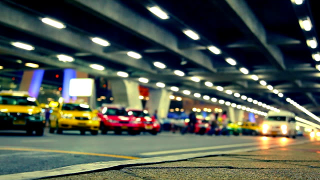 Cars and taxi